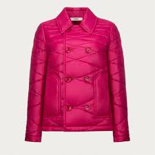 aud 176 8 women u0027s bally double breasted quilted jacket jackets