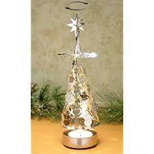 christmas tree holder christmas tree candle holder spinning candle with