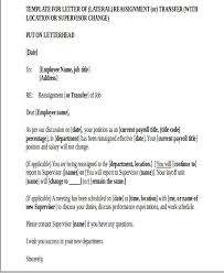 location transfer letter template 6 free word pdf format