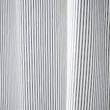 Ticking Stripe Curtains Alluring Ticking Stripe Curtains And Ticking Stripe Shower Curtain