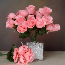 84 silk buds roses wedding flowers bouquets wholesale supply for