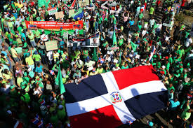 Dominican Republic Flag History Dominicans Rise Up In Massive Anti Corruption Protests Across The