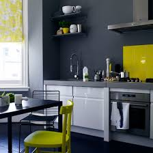 grey and yellow colour schemes yellow accents gray kitchens and