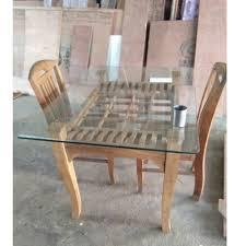 Teak Wood Dining Tables Teak Wood Dining Table Sagvan Ki Dining Table Krishna Furniture