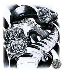 Guitar Tattoo Designs Ideas 125 Best Guitar Images On Pinterest Guitar Tattoo Music Tattoos