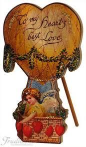 Victorian Valentines Day Decor by Victorian Valentine Ornament