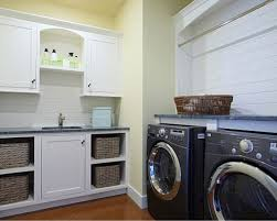 Laundry Room Storage Shelves by Laundry Basket Shelves Style Of Arrangement Homesfeed