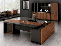 Office Table Design Guangzhou Factory Supply Side Cabinet Wooden Office Desk Design
