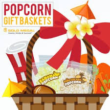 popcorn baskets 8 creative popcorn gift baskets for your store