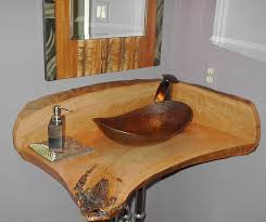 copper canoe shaped vessel sink antique dark copper eclectic