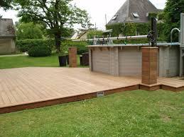 jacuzzi bois exterieur pour terrasse terrasse en bois pour piscine hors sol u2013 obasinc com