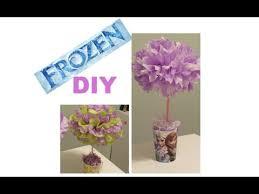 frozen diy party centerpieces youtube