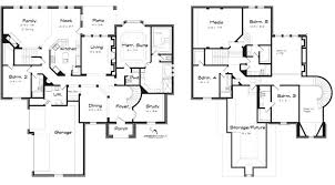 5 bedroom floor plans 2 story shiny 5 bedroom house plans 17 alongside design plan with 2 master