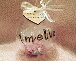 Baby S First Christmas Bauble Wholesale by Personalised Bauble Gold Mirror Christmas Ornament Custom
