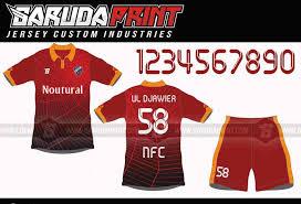 desain kaos futsal di photoshop buat seragam untuk olahraga futsal garuda print
