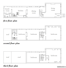 row house floor plans modern house plans by gregory la vardera architect row house
