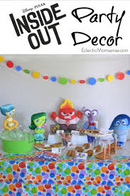 inside out party disney pixar inside out party ideas eclectic momsense