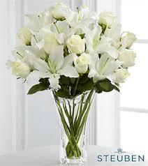 Vases For Floral Arrangements Steuben Glass Flower Arrangements U0026 Crystal Vases Ftd