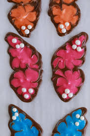 how to make chocolate butterflies for easy cake decorating bold