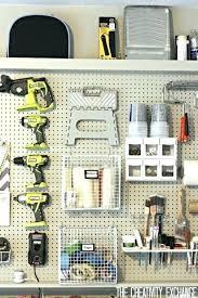 Pegboard Ideas Kitchen Garage Pegboard Ideas Kitchen Organizer For Storage Hooks