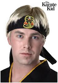 Karate Kid Halloween Costume Karate Kid Johnny Wig