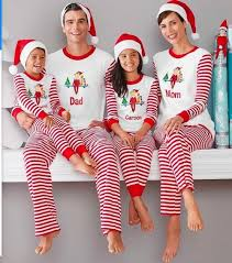 family matching clothing pajamas