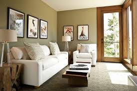 Living Room Soft And Small Living Room With Black Sofas And