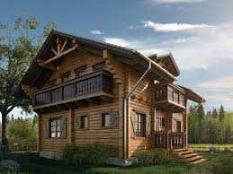 chalet house house chalet 3d cgtrader