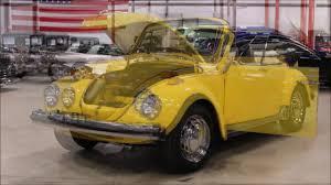 volkswagen buggy yellow 1975 volkswagen beetle yellow youtube