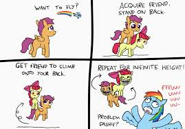 Meme Face Comics - 411009 apple bloom artist paper pony comic meme rage face