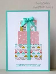 geburtstagskarten design basteln mit papier karten selber machen diy karten basteln schöne