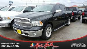 mac haik dodge chrysler jeep ram houston tx 2017 ram 1500 lone silver crew cab in houston
