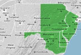 map of maryland delaware and new jersey window and door repair pennsylvania new jersey delaware