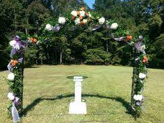 wedding arches ireland rustic arch lake side featuring hydrangeas green roses and