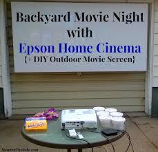 Backyard Screens Outdoor by Epson Home Cinema Diy Outdoor Movie Screen Outdoor Movie