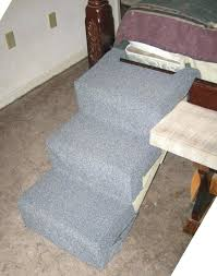 dog stairs for bed take 2 successful dog ramp for bed diy
