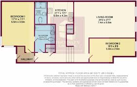 Harrods Floor Plan 2 Bedroom Apartment For Sale In Smithfield Building Northern