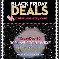 etsy black friday deals free us shipping over 65 with code fship by cutieline on etsy