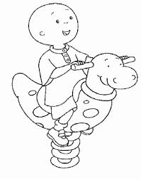 caillou coloring pages coloring pages gallery