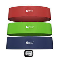 Chair Resistance Band Exercises Fitness Bands With Step Counter U2013 Get 3 Exercise Bands