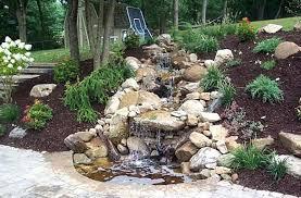 Garden Waterfall Ideas Water Fall Ideas