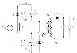 smps design switch mode power supply based on dual switch flyback