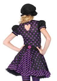 purple rag doll teen costume dark dollie girls halloween costume
