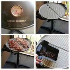 Backyard Grills Walmart George Foreman Pro Indoor Outdoor Grill 240 Sq In Ceramic