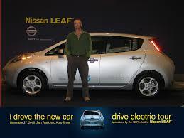 nissan leaf test drive nissan leaf