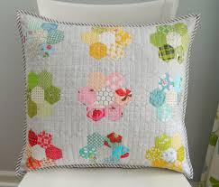 s o t a k handmade a new hexie pillow