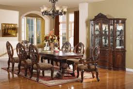 7 Piece Dining Room Set by Mcferran Formal 7 Piece Dining Set Classic Cherry D6008 Usa