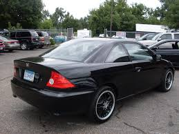 ride auto 2005 honda civic black