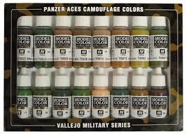 panzer aces colores acrílicos acrylic colors
