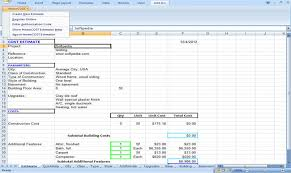 review and download homecost estimator excel based construction